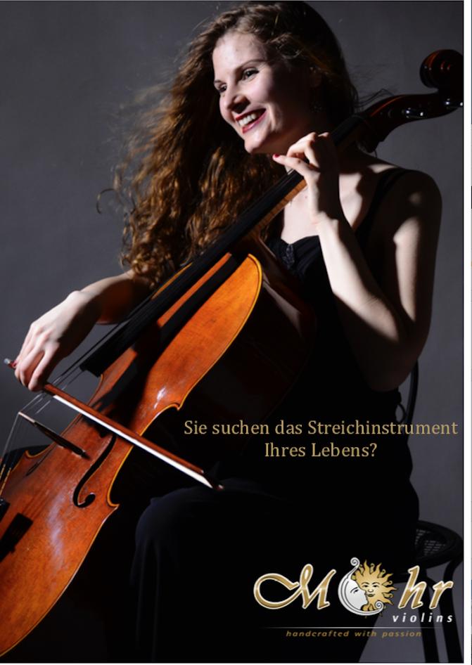 Mit freundlicher Unterstützung von MOHRVIOLINS, Augsburg